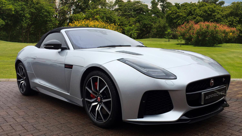used jaguar f type 5 0 supercharged v8 svr 2dr auto awd. Black Bedroom Furniture Sets. Home Design Ideas
