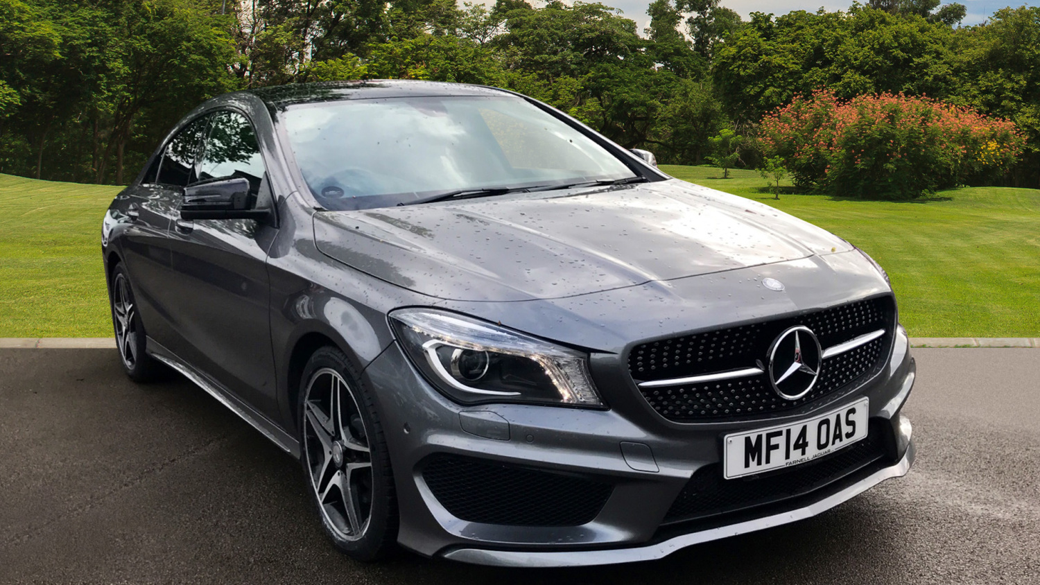 used mercedes benz cla cla 220 cdi amg sport 4dr tip auto diesel saloon for sale farnell land. Black Bedroom Furniture Sets. Home Design Ideas