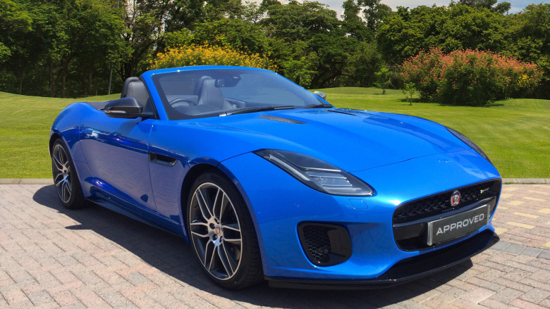 Jaguar F-Type 3.0 [380] Supercharged V6 R-Dynamic 2dr Auto Petrol Convertible