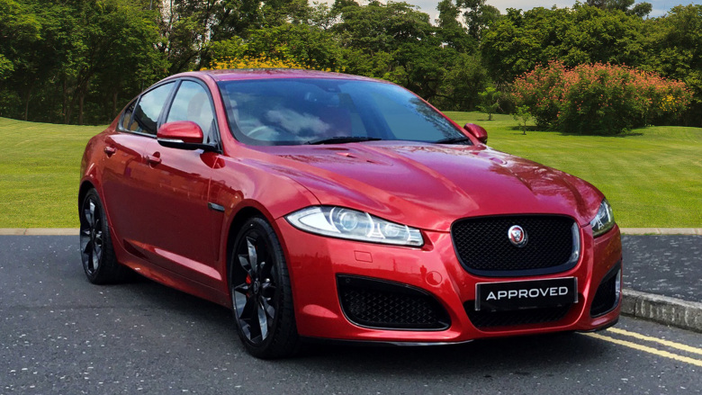 Jaguar XF 5.0 V8 Supercharged XFR 4dr Auto [Start Stop] Petrol Saloon