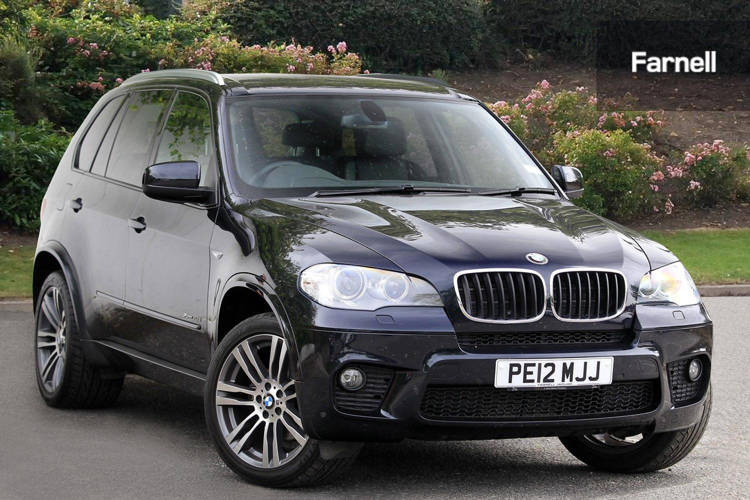 used bmw x5 xdrive30d m sport 5dr auto diesel estate for sale farnell land rover. Black Bedroom Furniture Sets. Home Design Ideas