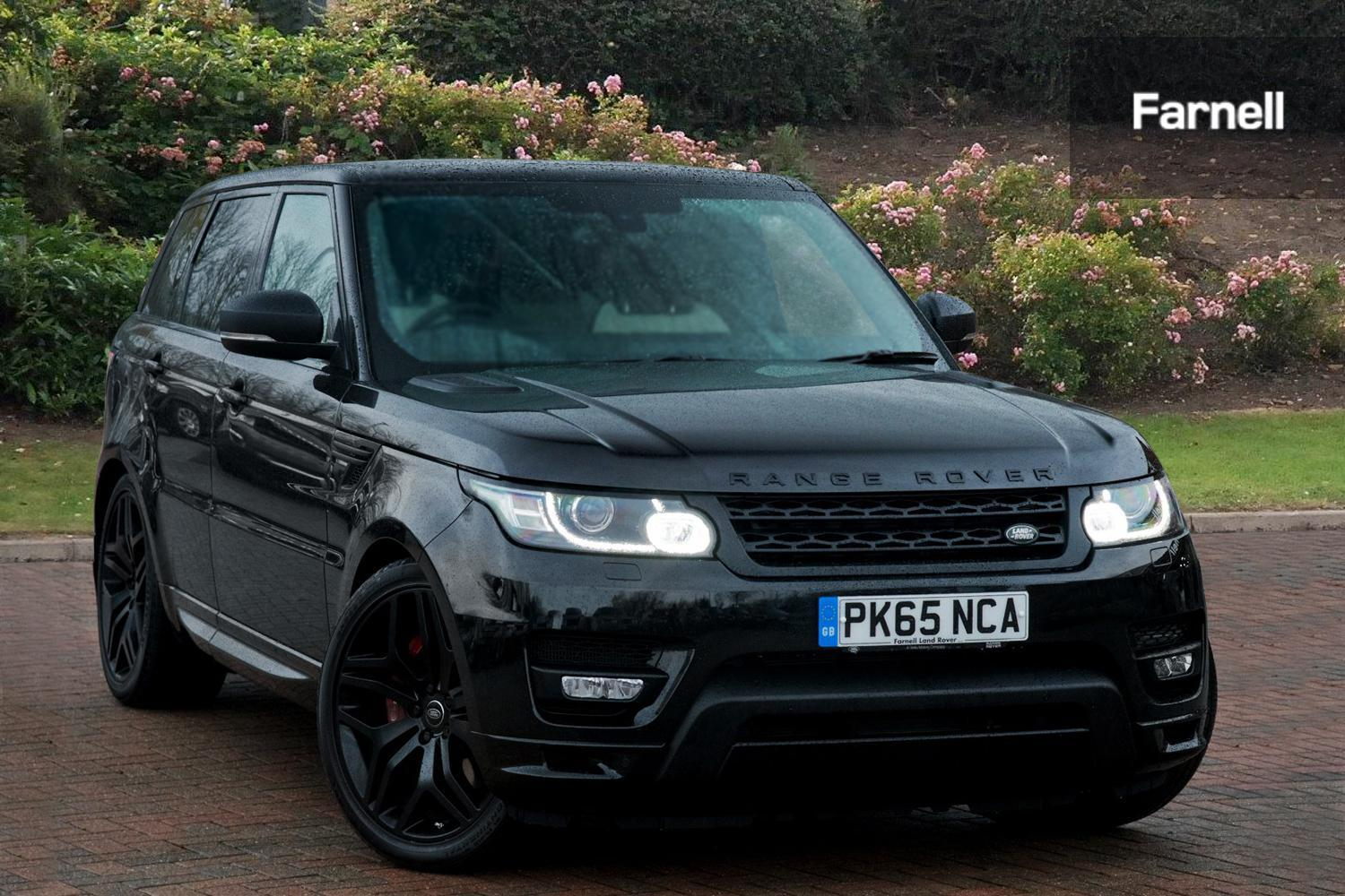 used land rover range rover sport 3 0 sdv6 hev autobiography dynamic 5dr auto diesel electric. Black Bedroom Furniture Sets. Home Design Ideas