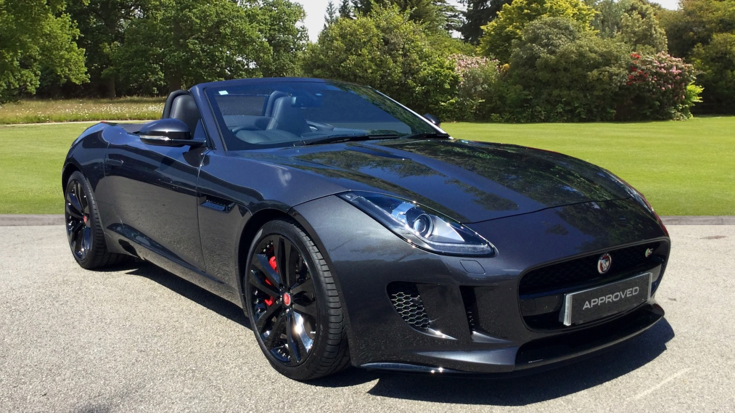 used jaguar f type 3 0 supercharged v6 s 2dr auto petrol convertible for sale farnell land rover. Black Bedroom Furniture Sets. Home Design Ideas