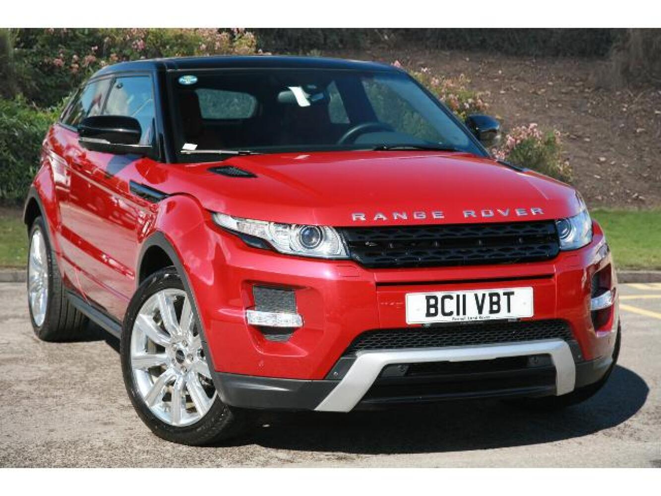 used land rover range rover evoque 2 2 sd4 dynamic 3dr auto diesel coupe for sale farnell land. Black Bedroom Furniture Sets. Home Design Ideas
