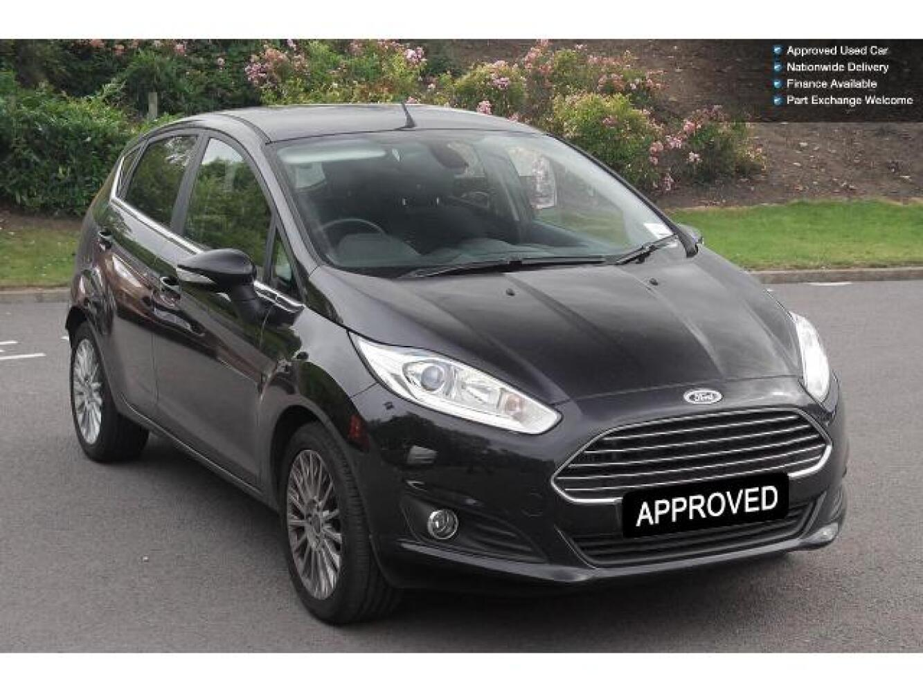 used ford fiesta 1 0 ecoboost 125 titanium 5dr petrol hatchback for sale farnell land rover. Black Bedroom Furniture Sets. Home Design Ideas