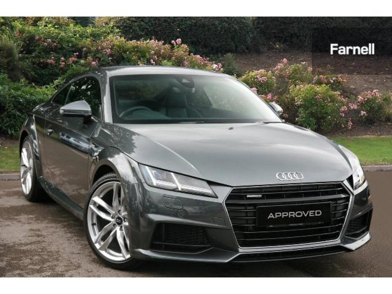 used audi tt 2 0t fsi quattro s line 2dr s tronic petrol. Black Bedroom Furniture Sets. Home Design Ideas