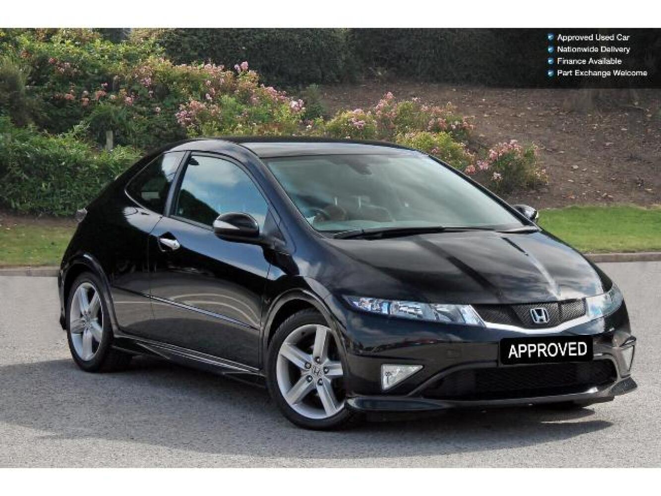 used honda civic 1 8 i vtec type s gt 3dr petrol hatchback for sale farnell land rover. Black Bedroom Furniture Sets. Home Design Ideas