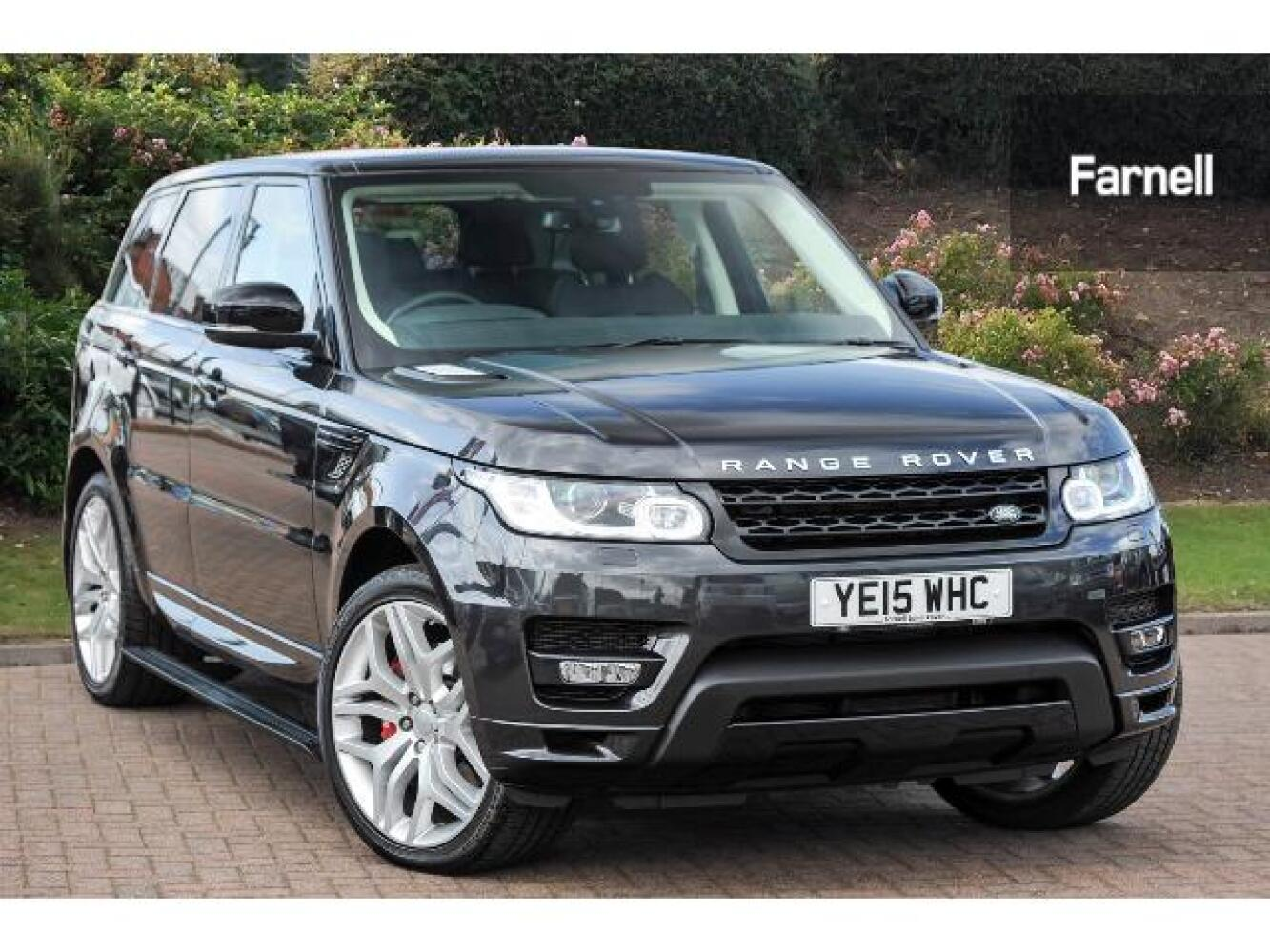 used land rover range rover sport 3 0 sdv6 306. Black Bedroom Furniture Sets. Home Design Ideas
