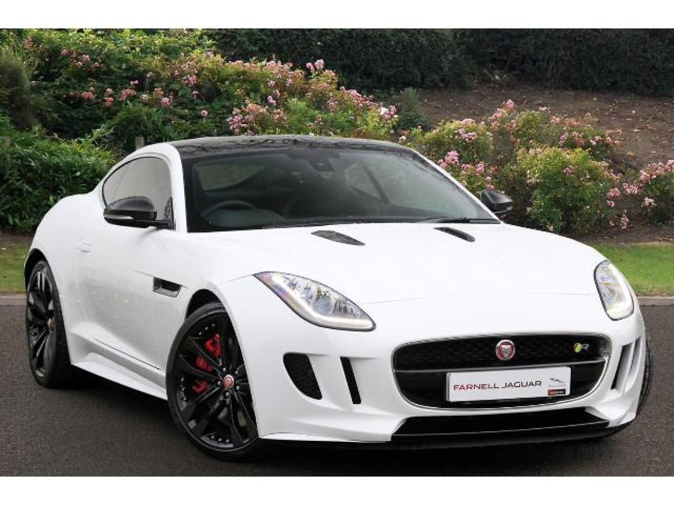 used jaguar f type 5 0 supercharged v8 r 2dr auto petrol coupe for sale farnell land rover. Black Bedroom Furniture Sets. Home Design Ideas